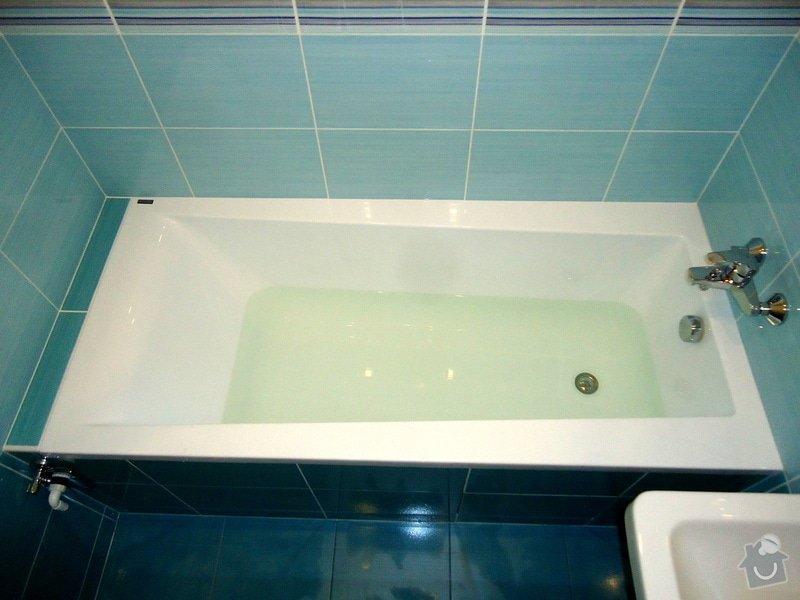 Bytové jádro, rek.koupelny, WC a chodby: 016