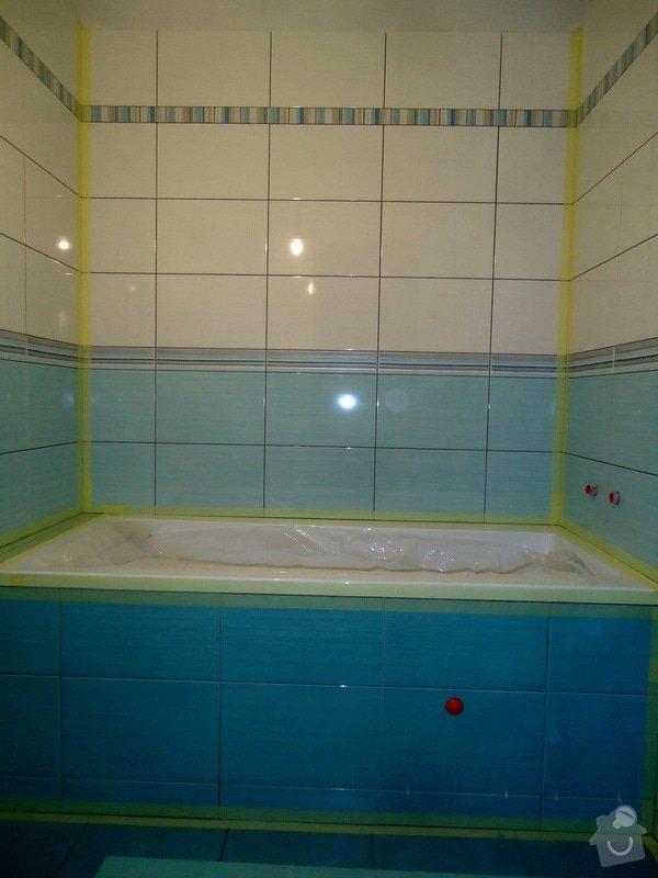 Bytové jádro, rek.koupelny, WC a chodby: 017