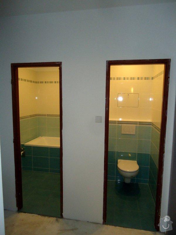 Bytové jádro, rek.koupelny, WC a chodby: 018