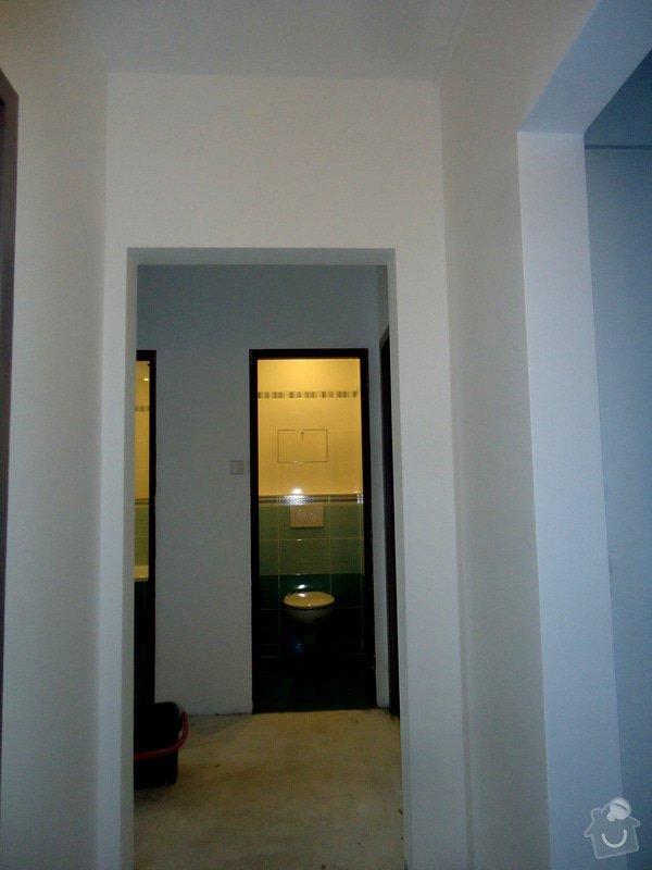 Bytové jádro, rek.koupelny, WC a chodby: 019
