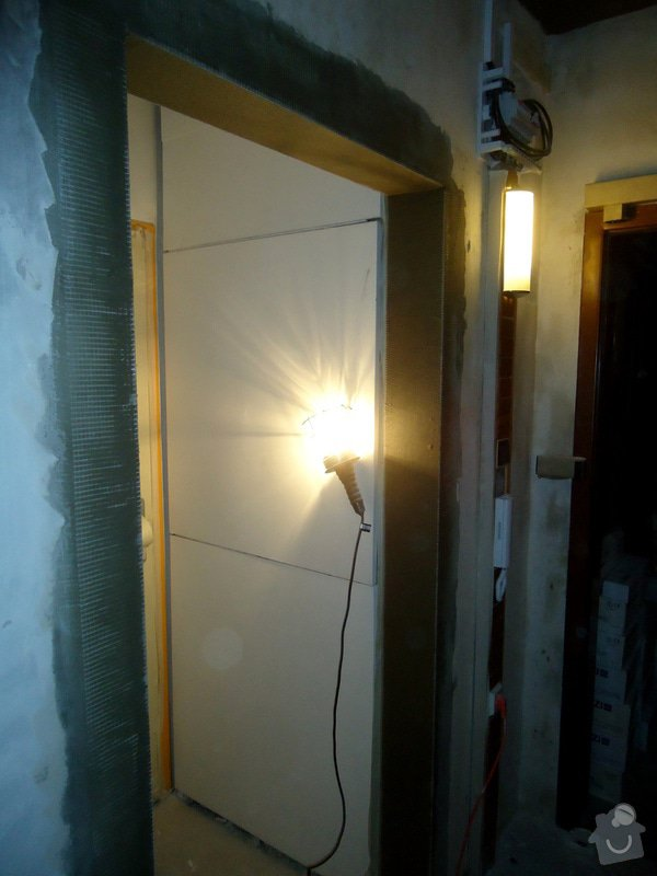 Bytové jádro, rek.koupelny, WC a chodby: 024