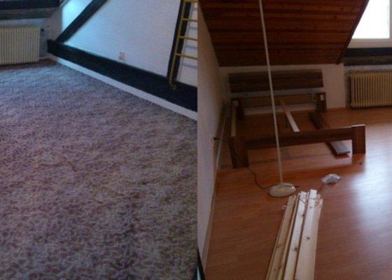 Položit plovoucí podlahu, zvýšit práh u vstupních dveří