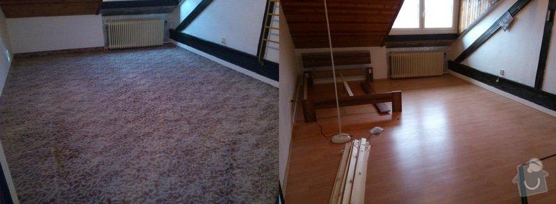 Položit plovoucí podlahu, zvýšit práh u vstupních dveří: DSC_stich