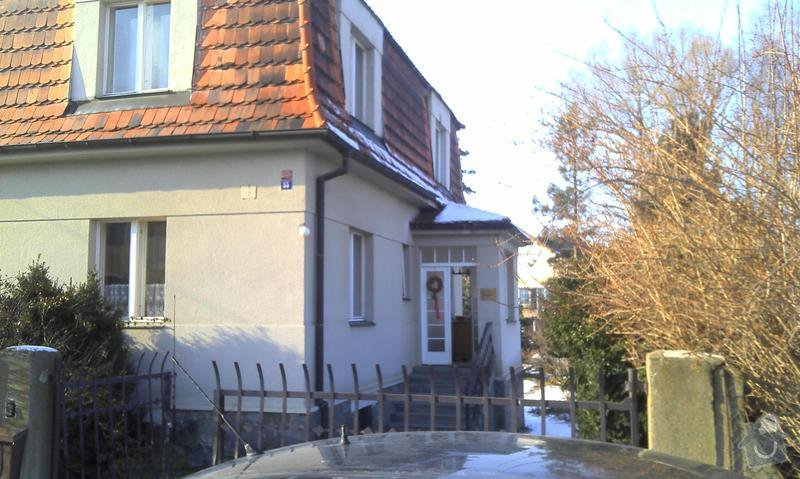 Zhotovení střechy na stání pro auta: PIC033