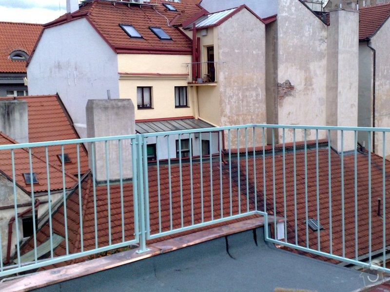 Zhotovení střechy na stání pro auta: prace_005