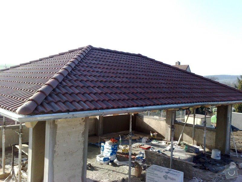 Zhotovení střechy na stání pro auta: prace_054
