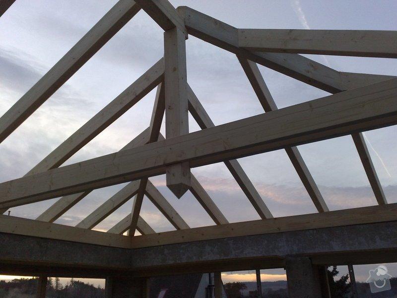 Zhotovení střechy na stání pro auta: prace_048