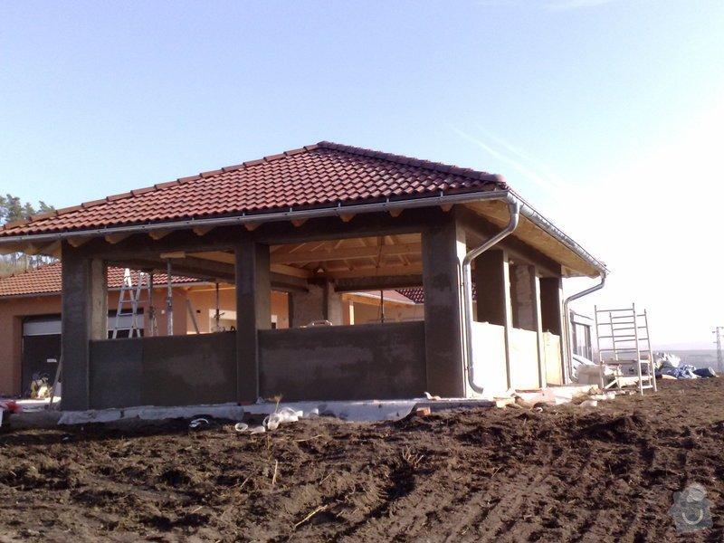 Zhotovení střechy na stání pro auta: prace_052