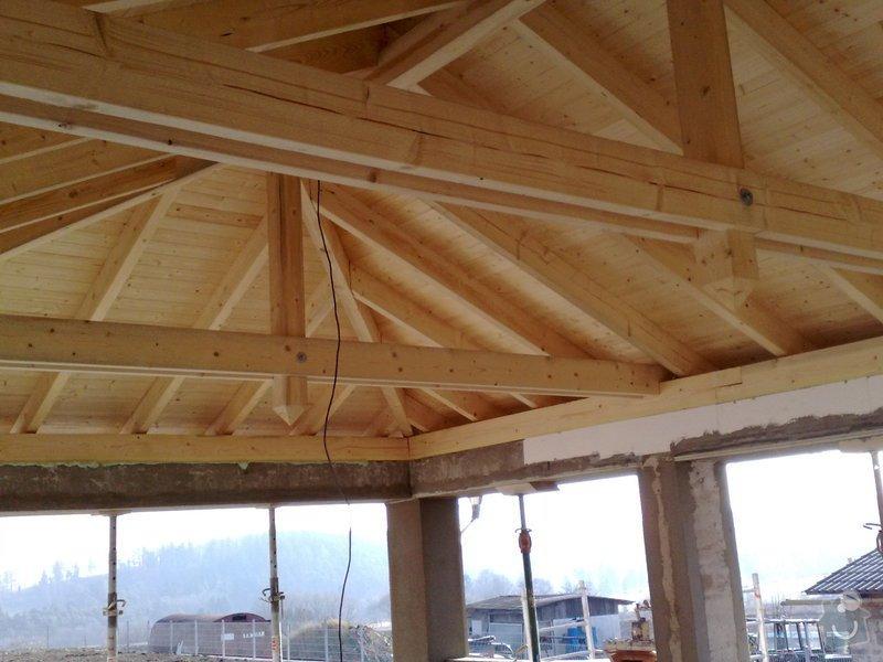 Zhotovení střechy na stání pro auta: prace_053