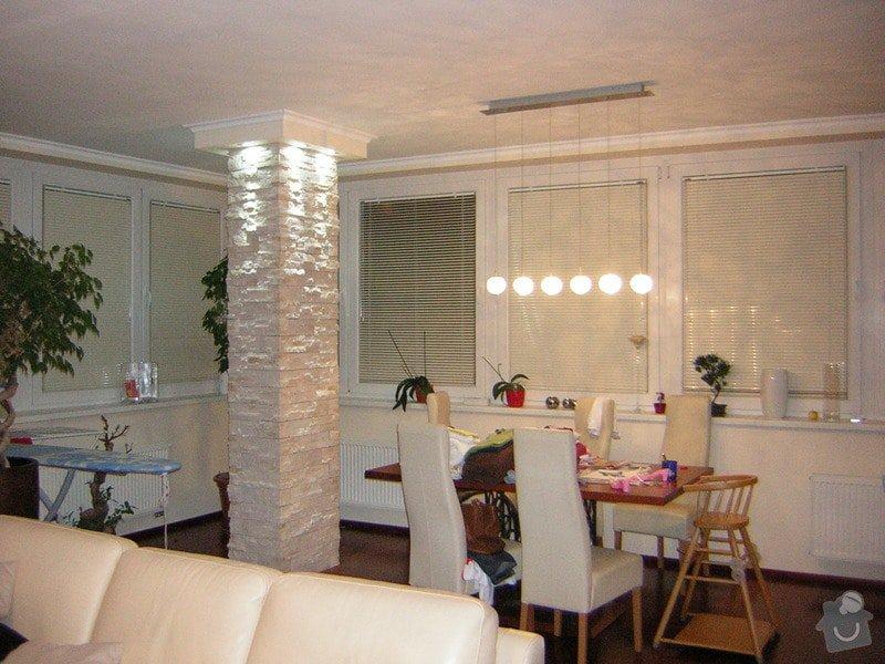 Úprava instalací pro kuchyň. Dekorativní  LED nasvětlení stěn, Nové osvětlení 2v1 LED v chodbě,  : DSCN4007