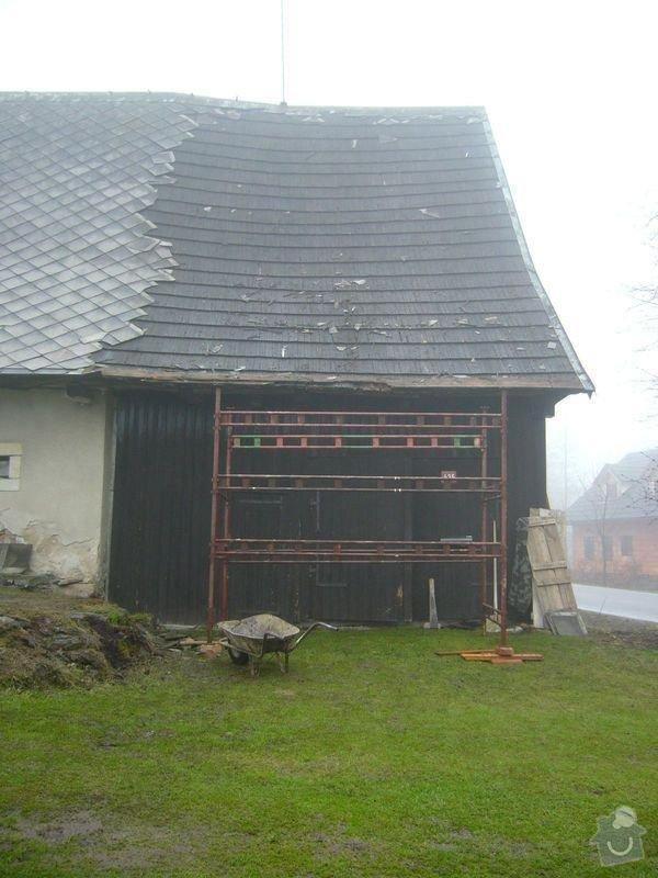 Rekonstrukce střechy: P1040336