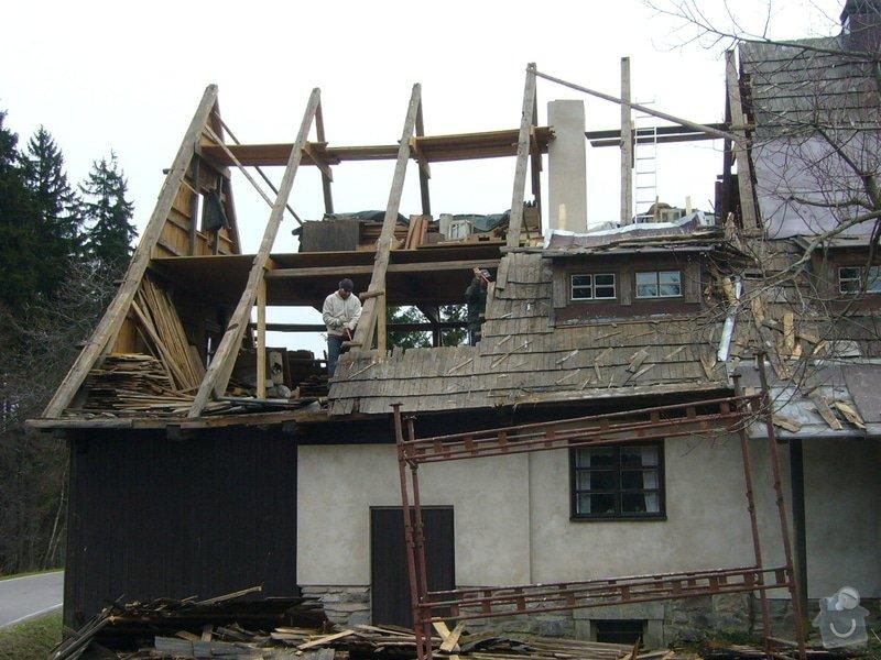 Rekonstrukce střechy: P1040367