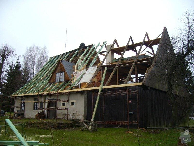 Rekonstrukce střechy: P1040387