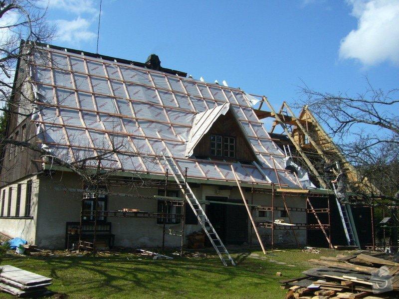Rekonstrukce střechy: P1040389