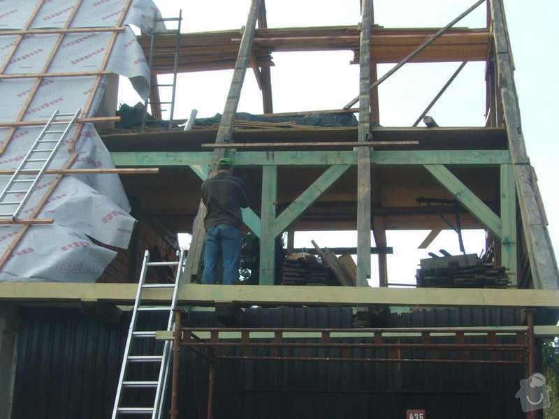 Rekonstrukce střechy: P1040393