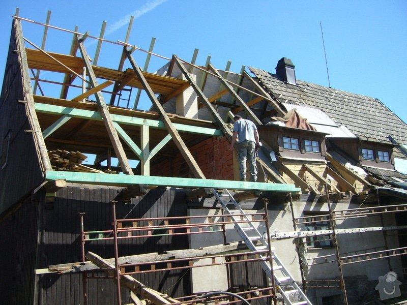 Rekonstrukce střechy: P1040411
