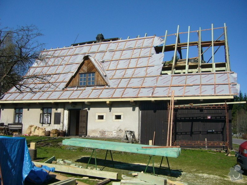 Rekonstrukce střechy: P1040413