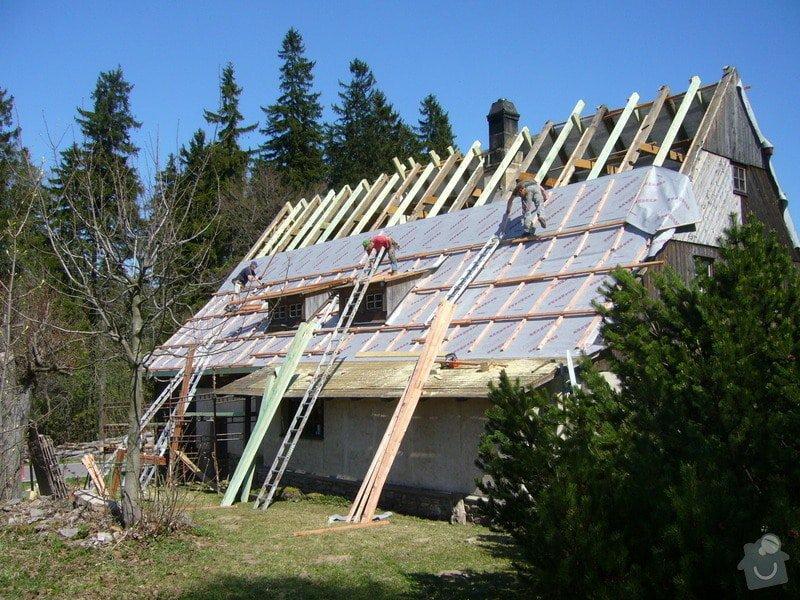 Rekonstrukce střechy: P1040446