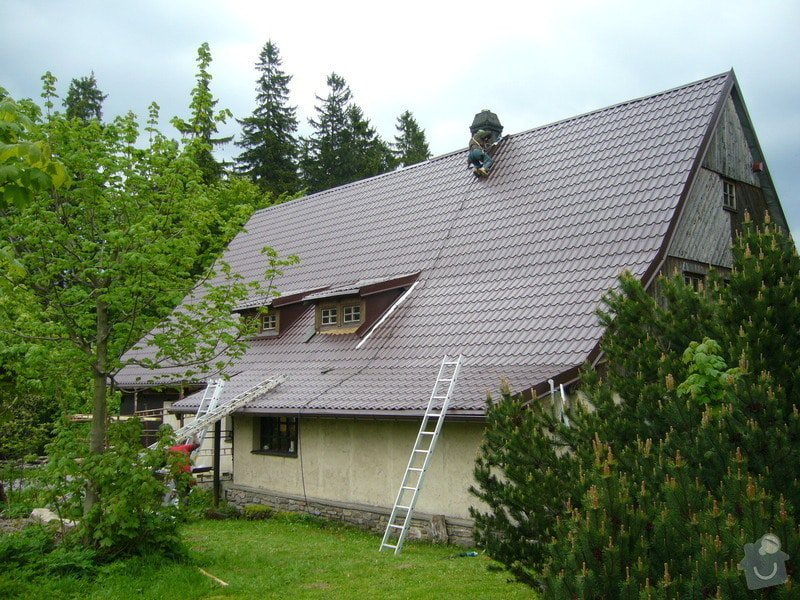Rekonstrukce střechy: P1040507