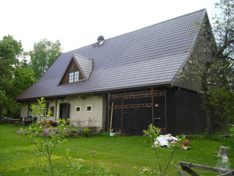 Rekonstrukce střechy: P1040508
