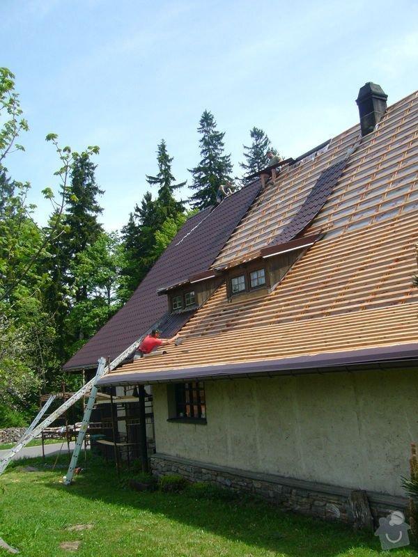 Rekonstrukce střechy: P1040489