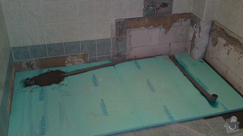 Výměna vany, sprchového boxu: 04012013610
