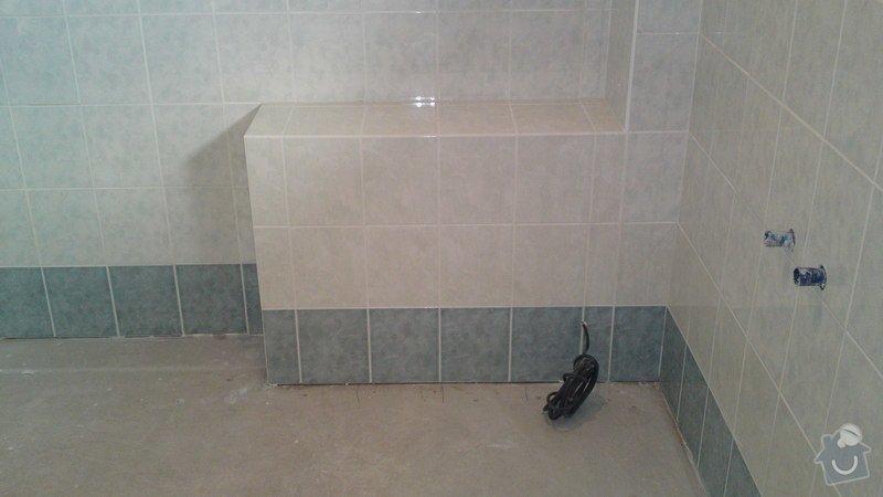 Výměna vany, sprchového boxu: 11012013644