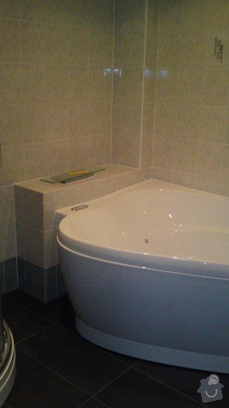 Výměna vany, sprchového boxu: 01022013715