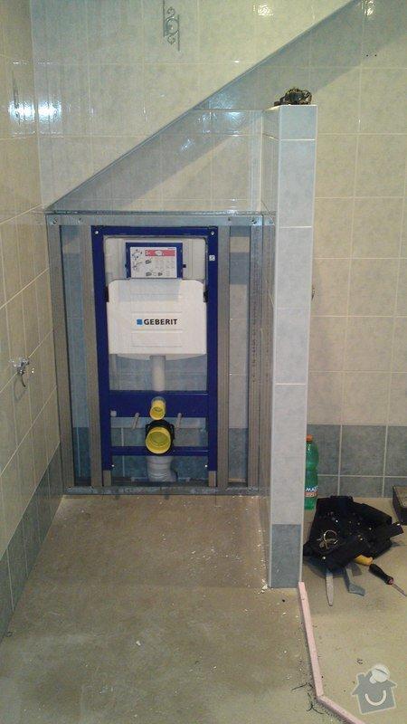Výměna vany, sprchového boxu: 09012013626
