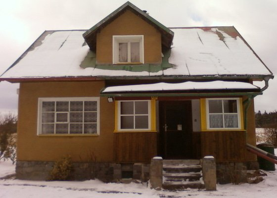Stavební úpravy rekreační chaty