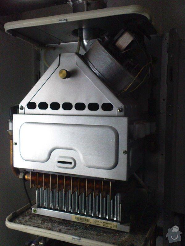 Oprava plynového kotle a regulace topení v podlaze: DSC00523