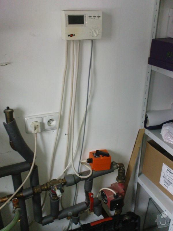 Oprava plynového kotle a regulace topení v podlaze: DSC00524