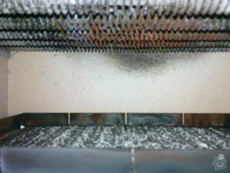 Oprava plynového kotle a regulace topení v podlaze: DSC00525