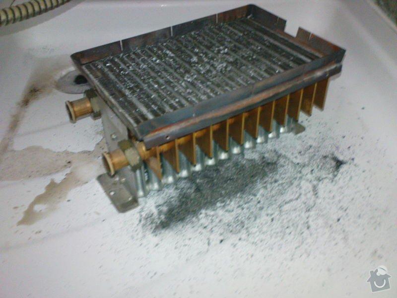 Oprava plynového kotle a regulace topení v podlaze: DSC00527