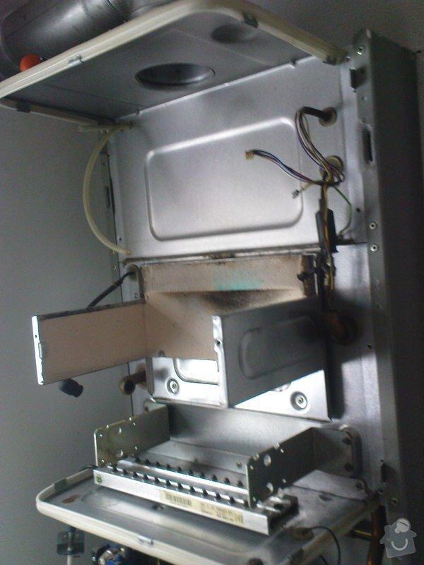 Oprava plynového kotle a regulace topení v podlaze: DSC00533