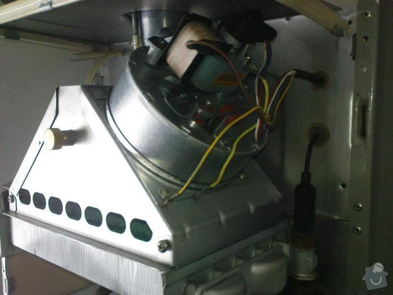 Oprava plynového kotle a regulace topení v podlaze: DSC00534