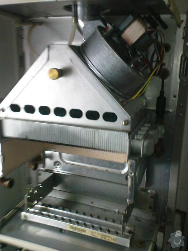 Oprava plynového kotle a regulace topení v podlaze: DSC00535