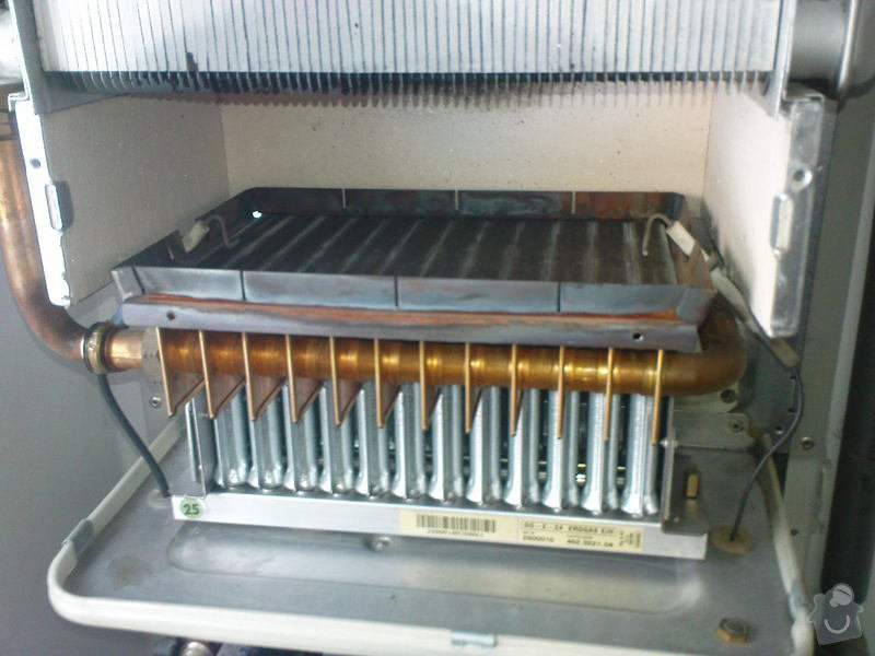 Oprava plynového kotle a regulace topení v podlaze: DSC00536