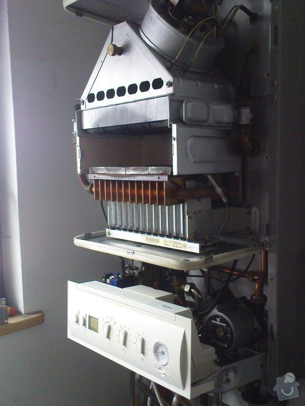 Oprava plynového kotle a regulace topení v podlaze: DSC00537