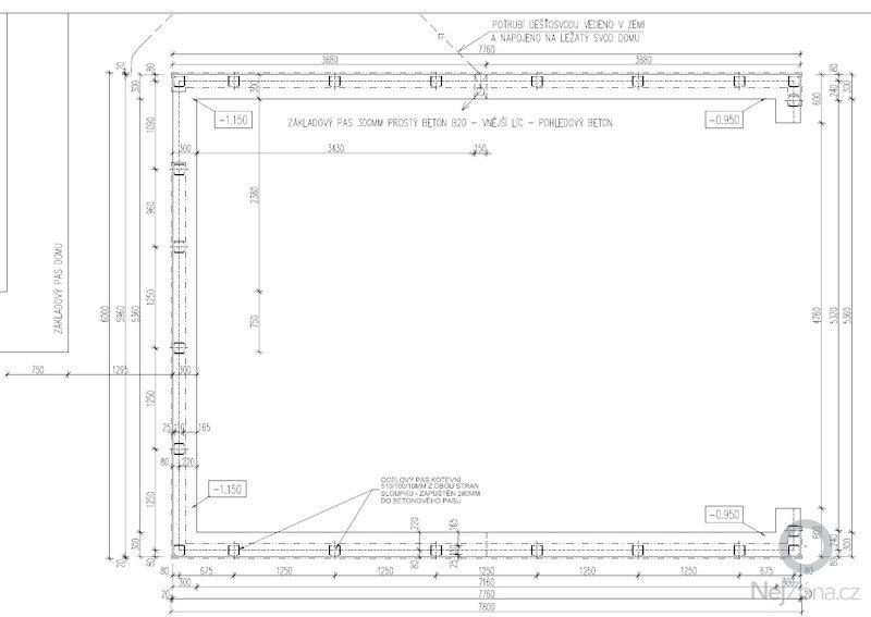 Dvojgaráž, dřevostavba, 48 m2: GA2