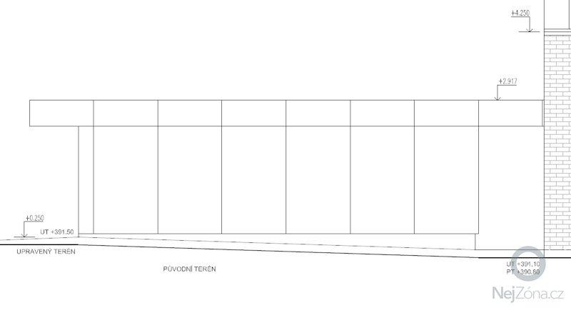Dvojgaráž, dřevostavba, 48 m2: GA8