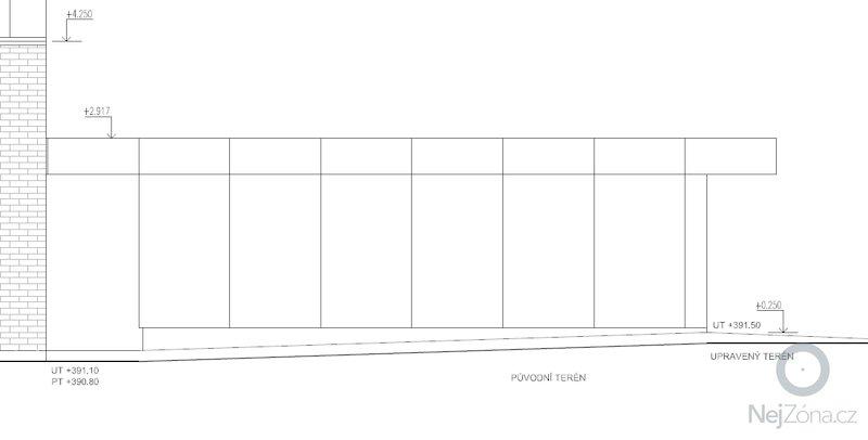 Dvojgaráž, dřevostavba, 48 m2: GA9