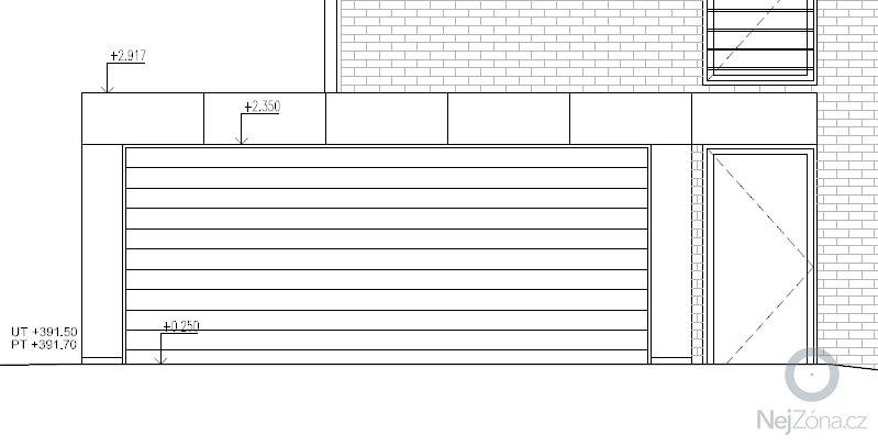 Dvojgaráž, dřevostavba, 48 m2: GA10