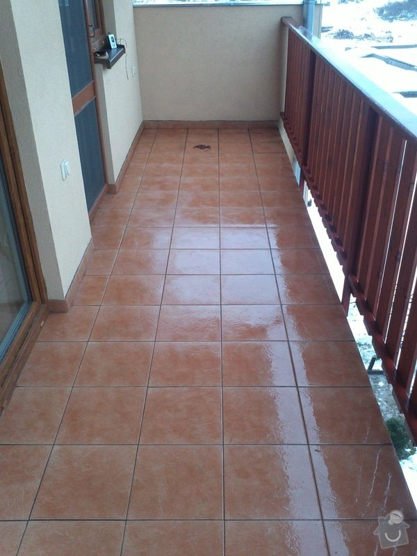Podlaha na balkóně  - 11m2: IMG218