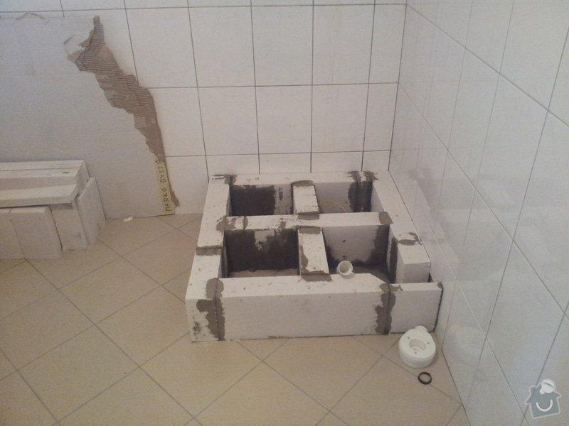 Rekonstrukce koupelny,málování pokojů,rekonstrukce podlahy.: 20130123_150207
