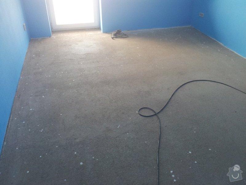Rekonstrukce koupelny,málování pokojů,rekonstrukce podlahy.: 20130207_101134