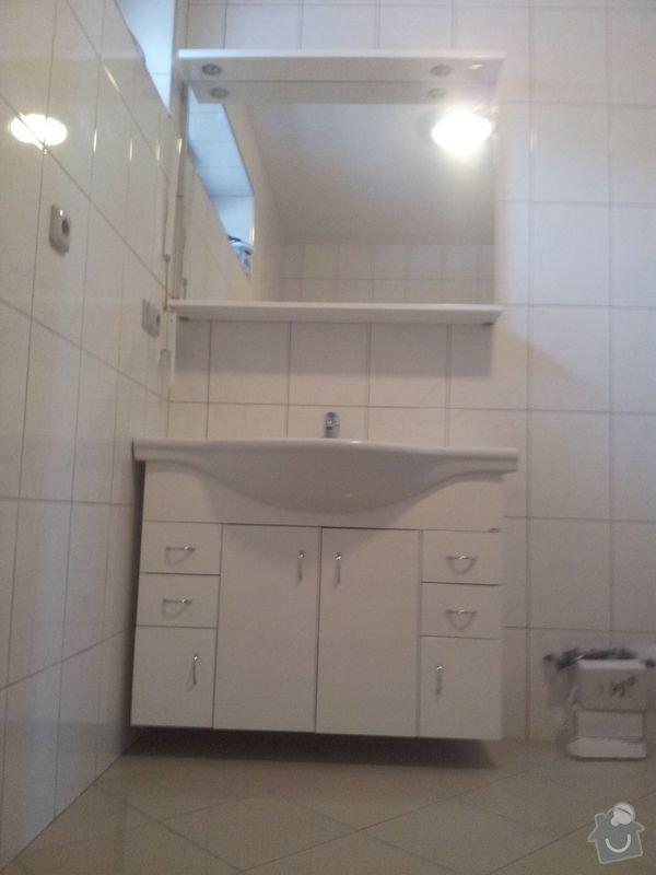 Rekonstrukce koupelny,málování pokojů,rekonstrukce podlahy.: 20130123_150235