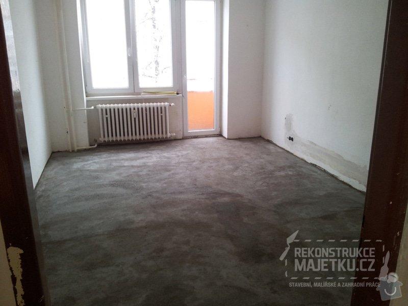 Demontáž umakartového jádra,Demontáž podlahy,Vyrovnání povrchu,pokládka plovoucích parket,montáž nábytku: 13