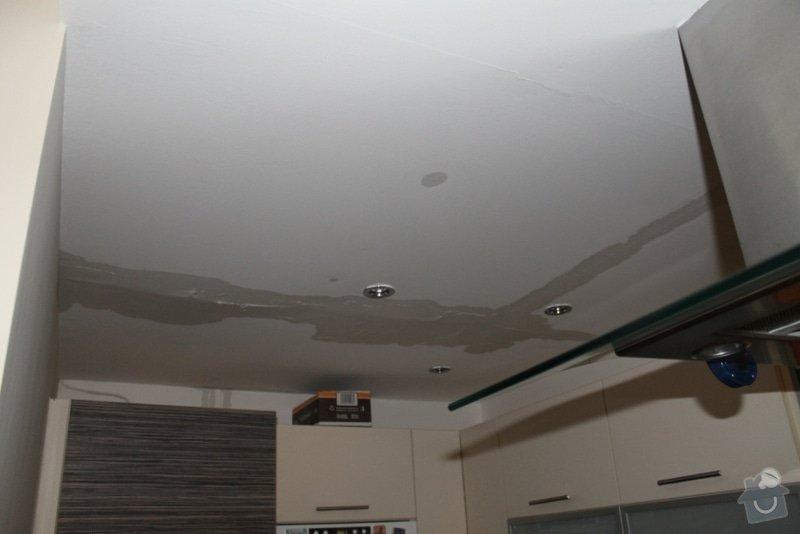 Sádrokartonový podhled - kuchyń: kuchyn_strop_3