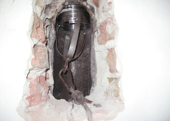 Vložkování dvouprůduchového komínu